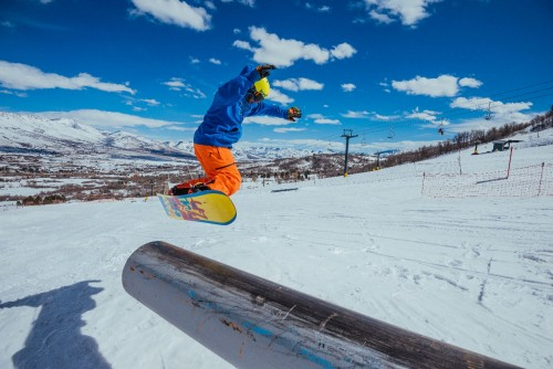 犹他滑雪月开启冬日冒险